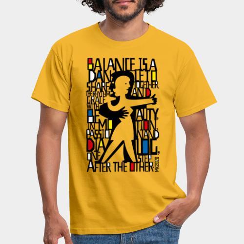danseurs de musique de danse - T-shirt Homme