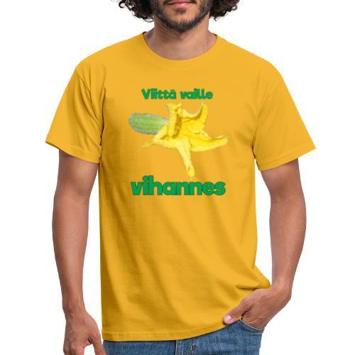 Viittä vaille vihannes, avomaankurkku - Miesten t-paita