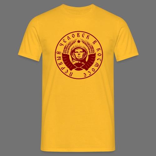 Cosmonaut 1c red - Men's T-Shirt