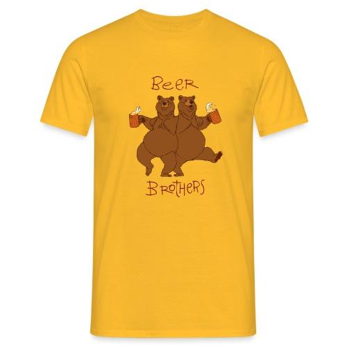 BEER BROTHERS - Koszulka męska