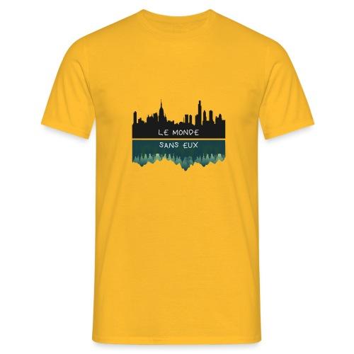 le monde - T-shirt Homme