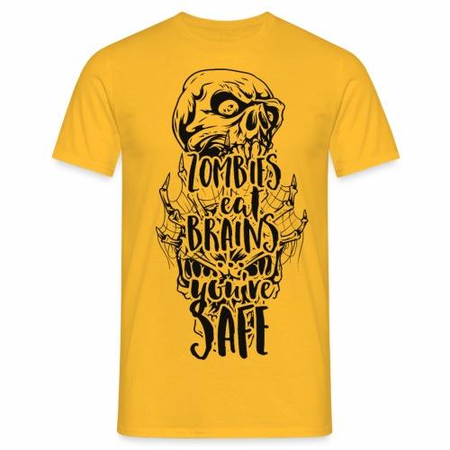 eat brains - Männer T-Shirt