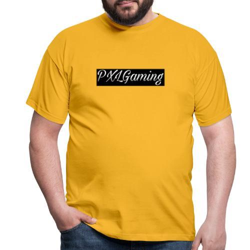 Einfaches Logo - Männer T-Shirt