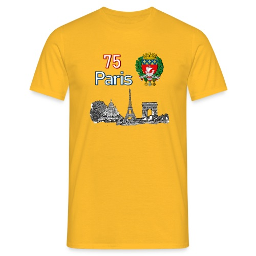 Paris france - T-shirt Homme
