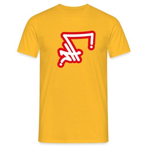 STF TAG - WH RED-01 - Männer T-Shirt