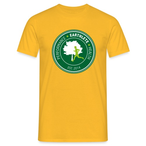 EARTHLETE Brand Logo - Herre-T-shirt