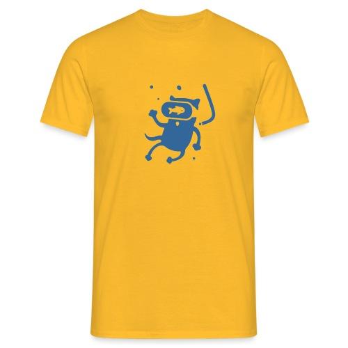 Taucherkatze - Männer T-Shirt