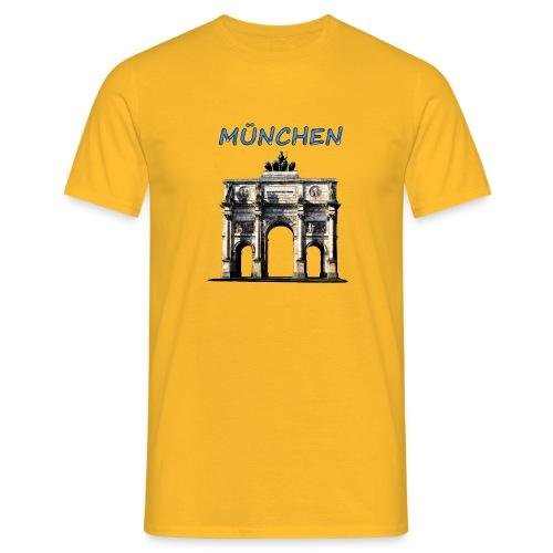 Münchnen Siegestor - Männer T-Shirt