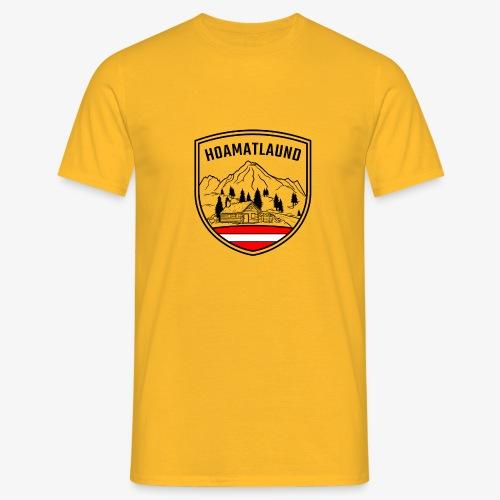hoamatlaund österreich - Männer T-Shirt