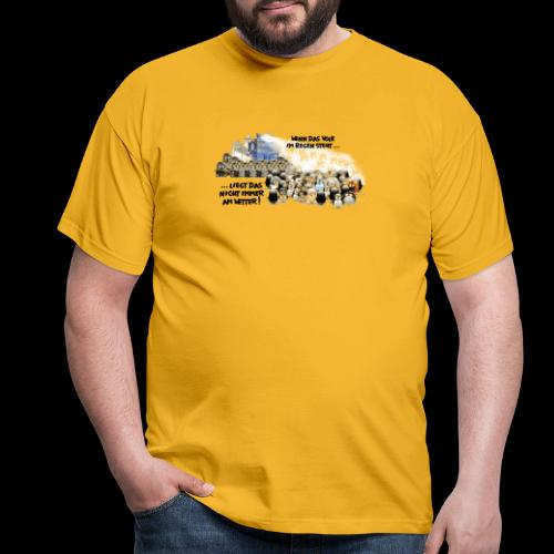 tux demo - Männer T-Shirt