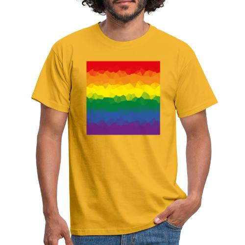 LGBT Flaggen Mosasaik - Männer T-Shirt