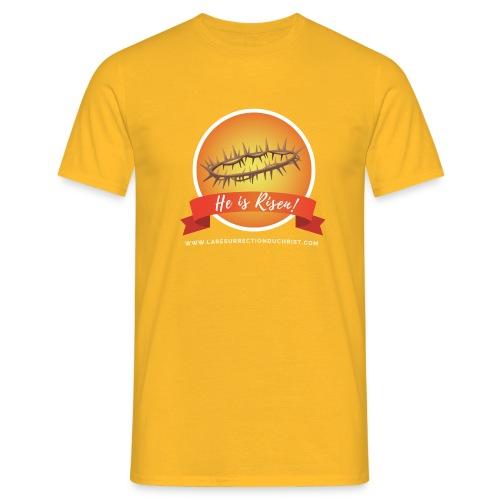 He is Risen ! (Il est ressuscité) - T-shirt Homme