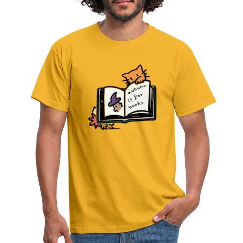 L'automne, c'est pour les livres ! - T-shirt Homme