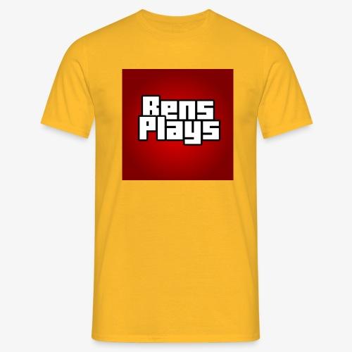 BensPlays met achtergrond - Mannen T-shirt