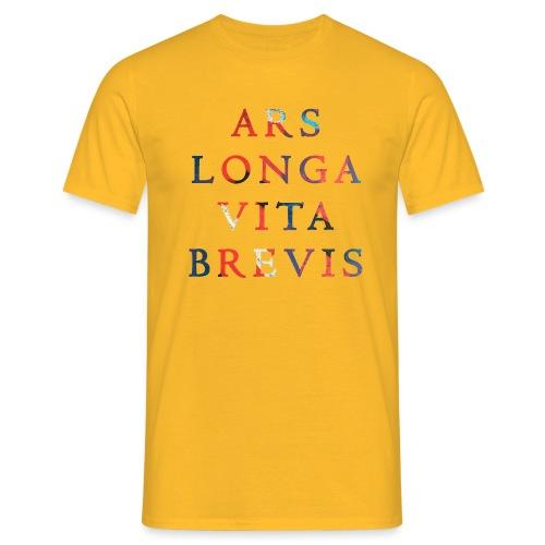 Ars Longa Vita Brevis 20.1 - Männer T-Shirt