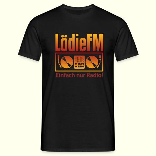 LödieFM Logo big - Männer T-Shirt