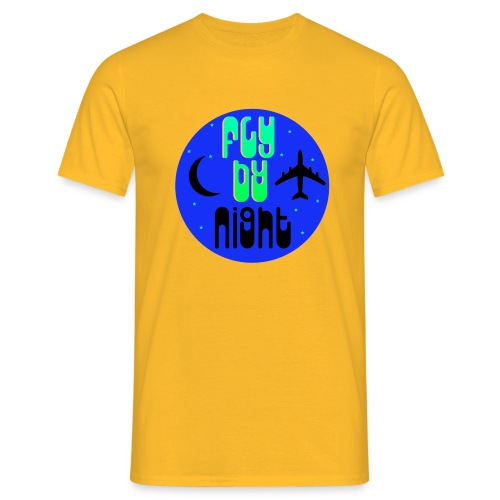 Fly By Night - Men's T-Shirt