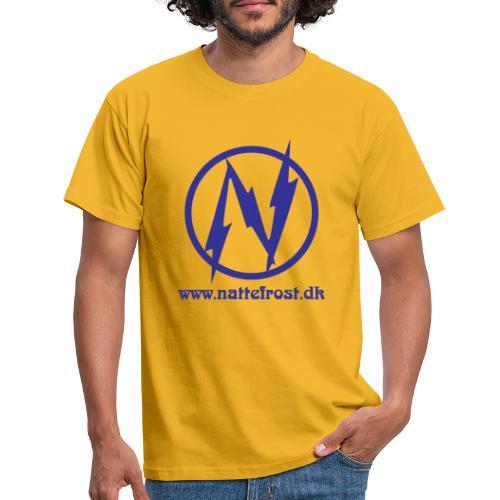 Nattefrost Logo. - Herre-T-shirt