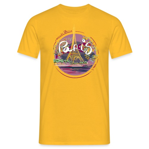 Paris by strob - T-shirt Homme