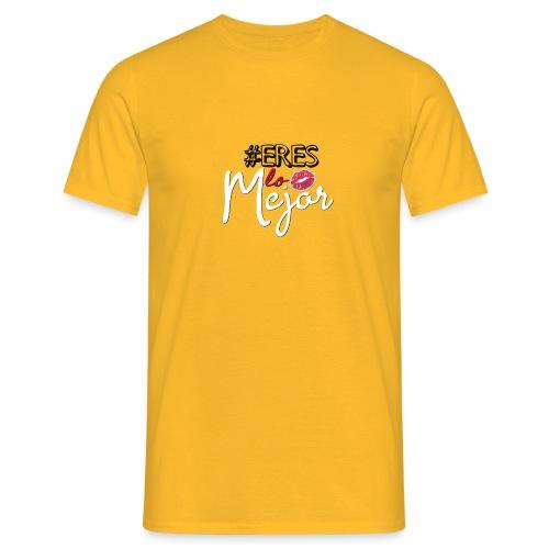 #ERESLOMEJOR - Mannen T-shirt
