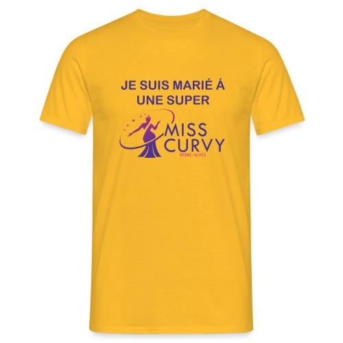 MISS CURVY Je suis marié - T-shirt Homme