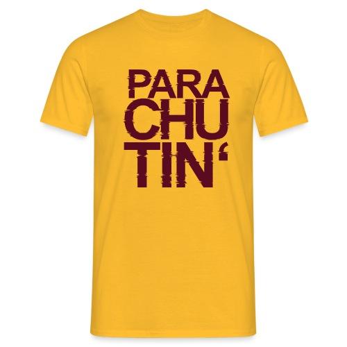 Parachute Glitch v2 - Männer T-Shirt