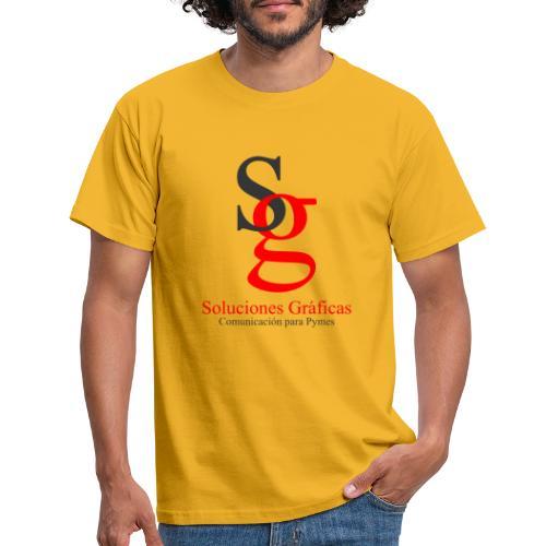 logo soluciones gráficas - Camiseta hombre