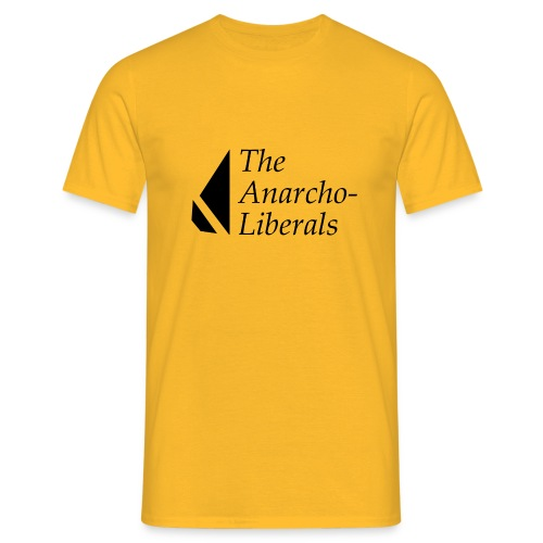 The Anarcho-Liberals: Banner - Men's T-Shirt