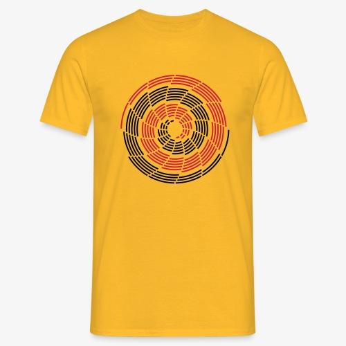 Stroke Galaxy - Männer T-Shirt