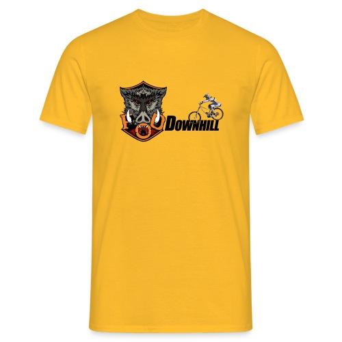 FoD Boar downhill png - Men's T-Shirt