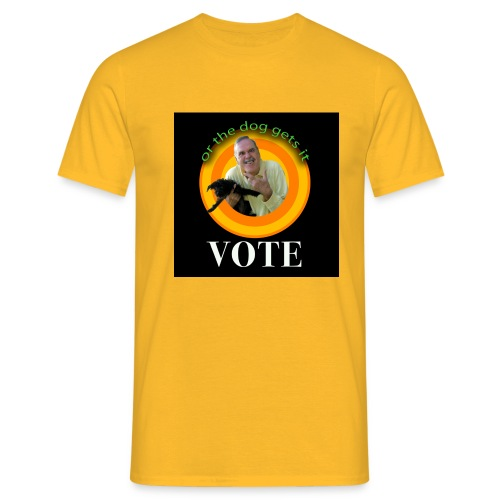 jcvote3 - Men's T-Shirt