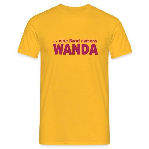 logo wanda - Männer T-Shirt