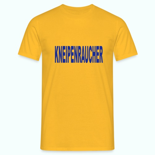 KNEIPENRAUCHER - Men's T-Shirt