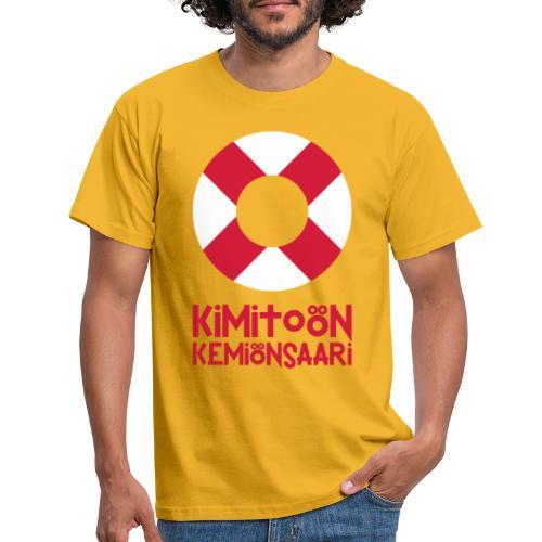 Livboj: Kimitoön (röd text) - Miesten t-paita