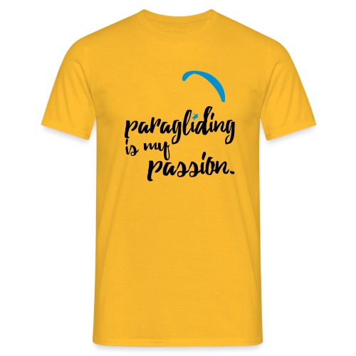 paragliding is my passion - Männer T-Shirt