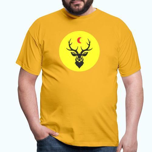 Hipster deer - Men's T-Shirt