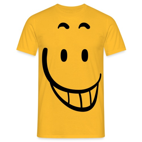Smile png - Mannen T-shirt