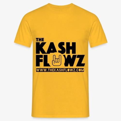 The Kash Flowz Official Web Site Black - T-shirt Homme