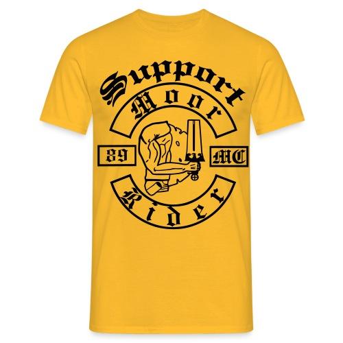 Support_Shirt_Brust - Männer T-Shirt