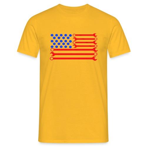 TUNED IN AMERICA REV png - Maglietta da uomo
