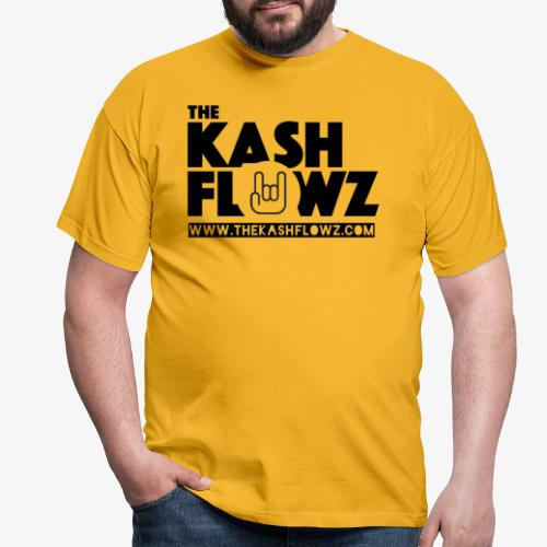 The Kash Flowz Official Web Site Black - T-shirt Homme