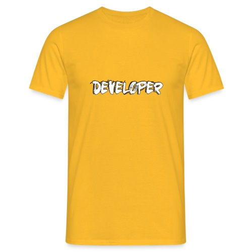 Developer - Männer T-Shirt