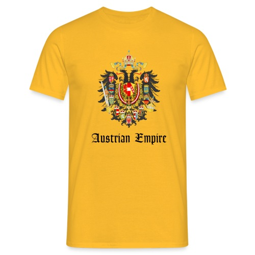 Austrian Eagle big - Männer T-Shirt