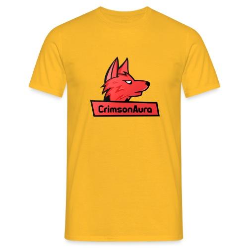 CrimsonAura Logo Merchandise - Men's T-Shirt