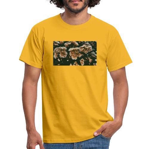 vintage flowers - T-shirt herr