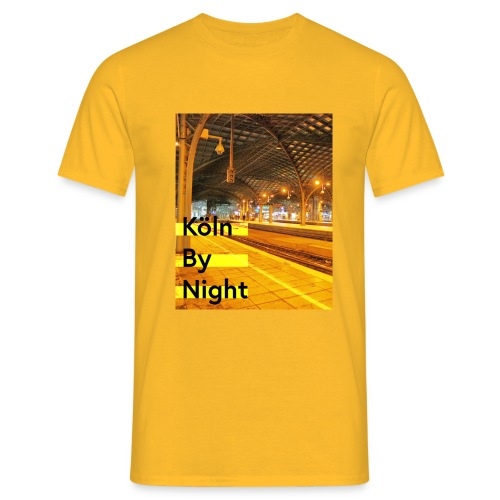 Köln by night - Männer T-Shirt