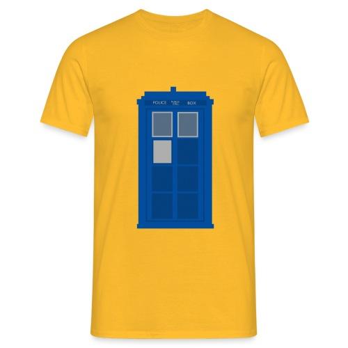 T.A.R.D.I.S. Design - Men's T-Shirt