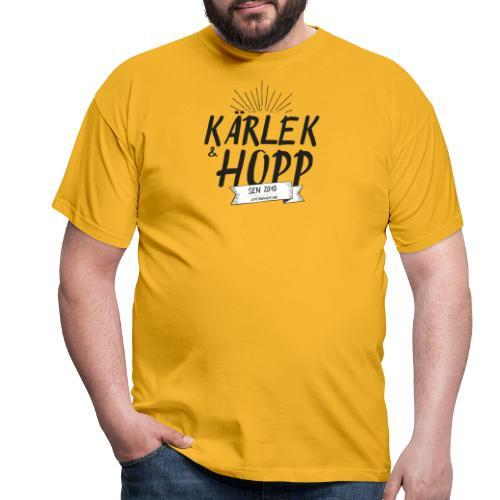 Kärlek och Hopp - T-shirt herr