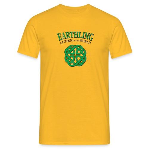 Earthling - Citizen of the world - T-shirt herr