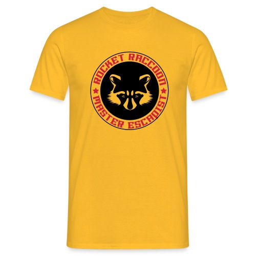 Rocket raccoon logo full - T-shirt Homme